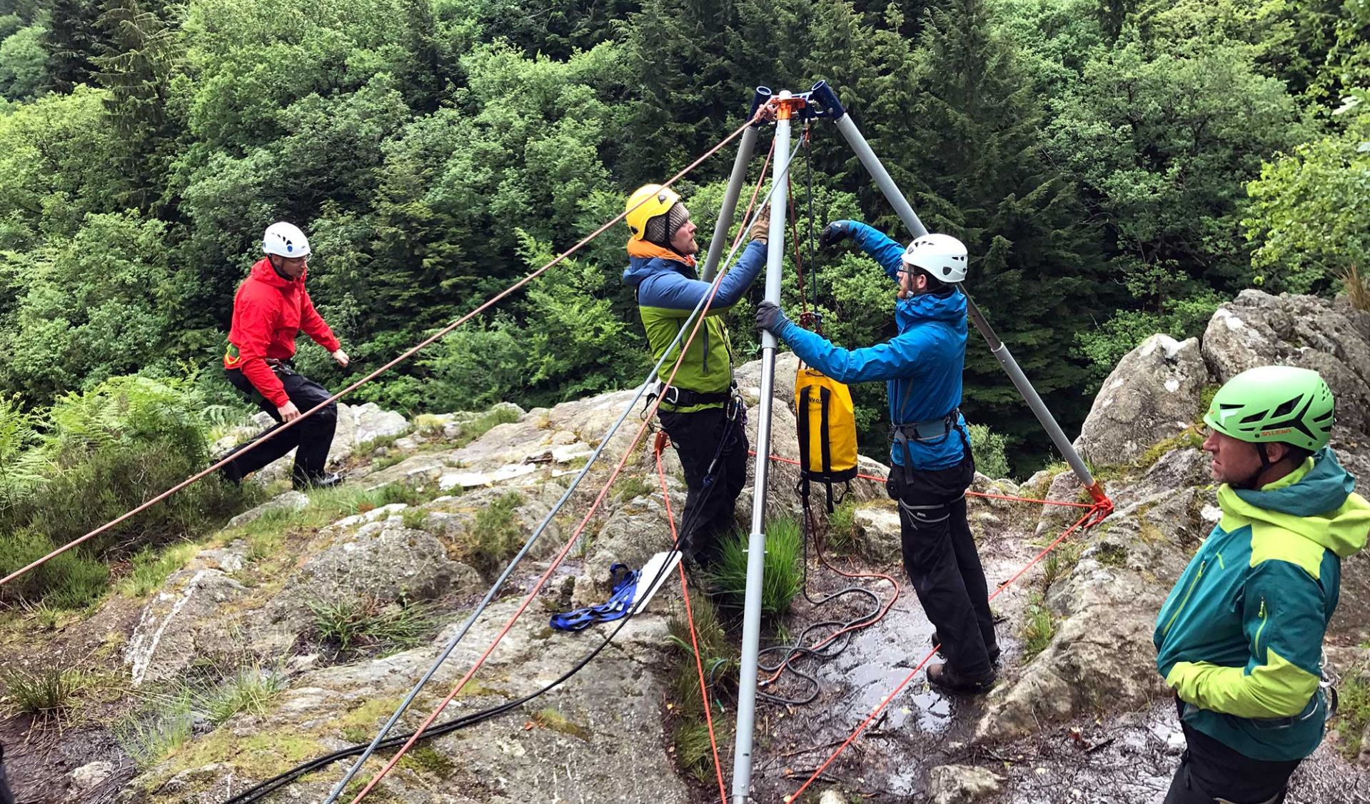 Emergency Responder Rope Courses