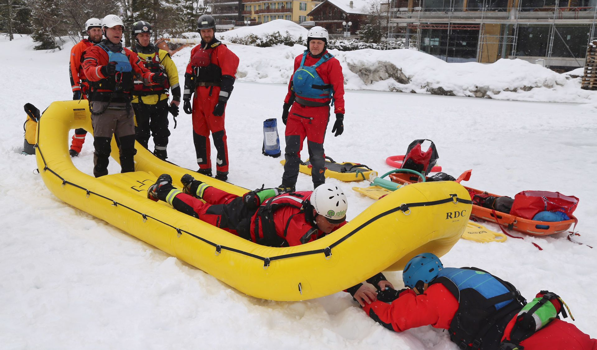 Ice Safety and Rescue Courses