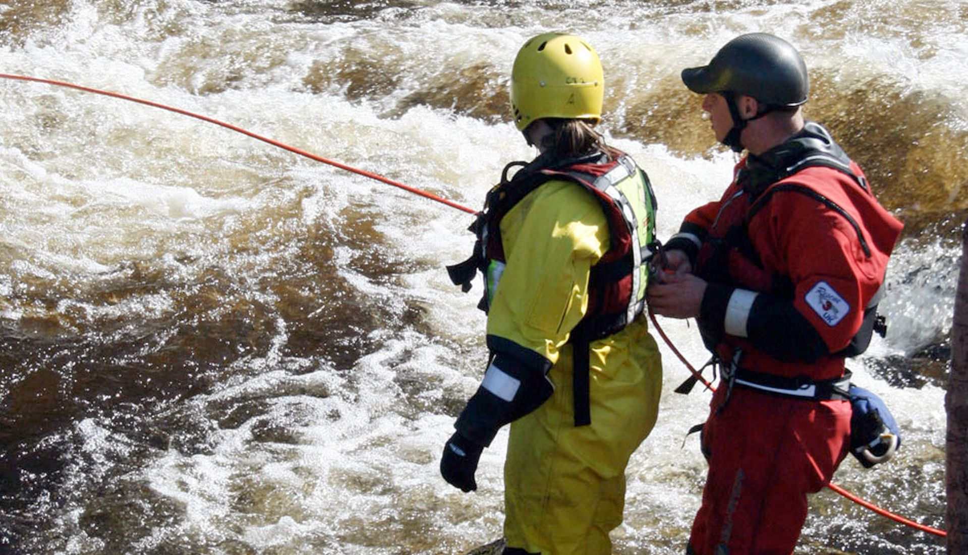 Advanced Swift Water and flood rope rescue